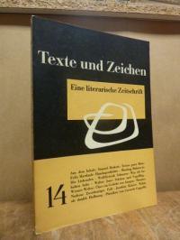 Andersch, Texte und Zeichen – Eine literarische Zeitschrift, Heft 14,