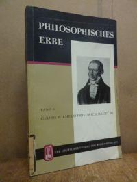 Hegel / Gropp, G. W. F. Hegel – Ausgewählte Texte, Band II (2),