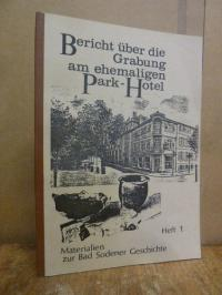 Bad Soden, Bericht über die Grabung am ehemaligen Park-Hotel,