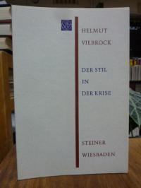 Viebrock, Der Stil in der Krise – Beobachtungen über den Stil der politischen Re