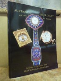 Uhren / Auktionen Dr. Crott – 61. Auktion, (2. und 3. Teil),