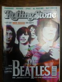 Musikzeitschrift / Gockel, Rolling Stone [Deutschland], Heft 11, Novembeer 1996,