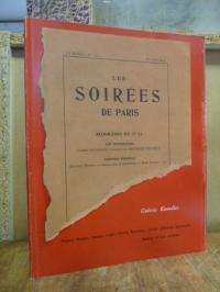 Galerie Knoedler / Andre Billy (Text), Les soirées de Paris – Jeuness de l'art m