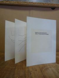 Zimmermann, Zehn Federzeichnungen,