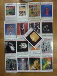 Bechtloff, Kunstforum international, Konvolut von 17 Bände: 63/64, 75, 103, 104,