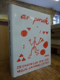 Penck, Zeichnungen 1958 – 1985 – Frauen, Skulpturen, Abstraktes,