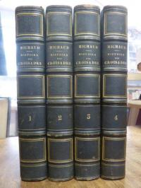 Michaud, Histoire des croisades, 4 Bände / Volumes (= alles),