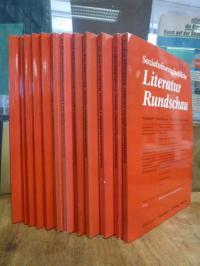 Konvotut 12 Hefte Sozialwissenschaftliche Literatur Rundschau – Sozialarbeit, So