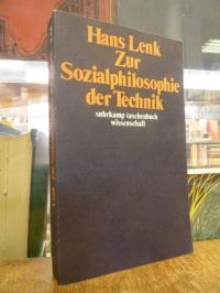 Lenk, Zur Sozialphilosophie der Technik,