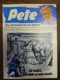 Dr. Isert (Redaktion), Pete – Eine Zeitschrift für die Jugend, Heft 159: ich wei
