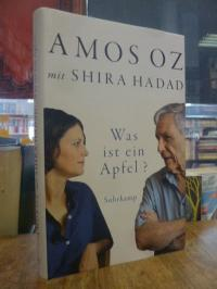Oz, Was ist ein Apfel? – Sechs Gespräche über Schreiben und Liebe, Schuldgefühle