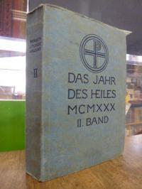 Parsch, Das Jahr des Heiles –  Klosterneuburger Liturgie-Kalender, VIII (8.) Jah