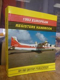 Burnett, 1993 European Registers Handbook – An Air-Britain Publication