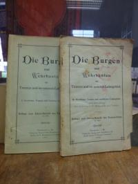 Taunus-Club (Hrsg.), Die Burgen und Wehbauten im Taunus und im unteren Lahngebie