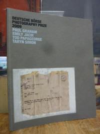 Deutsche Börse Photography Prize 2009 : Paul Graham, Emily Jacir, Tod Papageorge