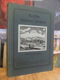 Familienverband Merck [Verfasser], Mercksche Familien-Zeitschrift, Band XXII, 19