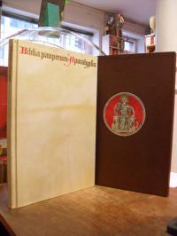 Bibel / Faksimile, Biblia pauperum, Apocalypsis – Die Weimarer Handschrift,