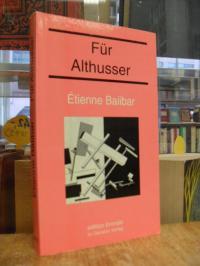 Balibar, Für Althusser,
