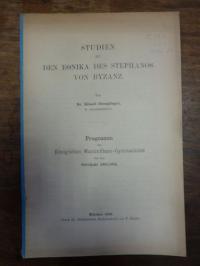 Stemplinger, Studien zu den Ethnika des Stephanos von Byzanz