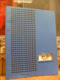 Marantz Co. Inc., Marantz Model 2225 Stereophonic Receiver – Handbook of Instruc