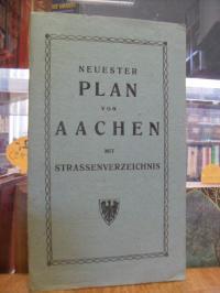 Neuester Plan von Aachen, [1:12.500]