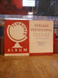 Schaubek, Schaubek Album – Verlagsverzeichnis 1951/52,