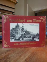 Frankfurt am Main alte Ansichtskarten,