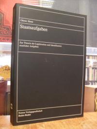 Hesse, Staatsaufgaben – Zur Theorie der Legitimation und Identifikation staatlic