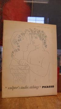 Picasso, the sculptor's studio: etchings by Picasso,