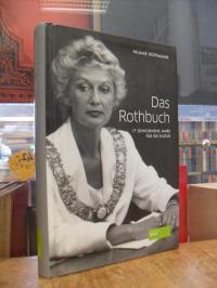 Hoffmann, Das Rothbuch – 17 gewonnene Jahre für die Kultur,