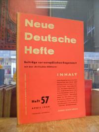 Enzensberger, Analyse der Taschenbuch-Produktion, S. 53-59 in: Neue Deutsche Hef