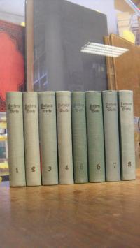 Luther, Luthers Werke in Auswahl, 8 Bände (= alles),