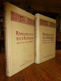 Plautus / Terentius, Römische Komödien, 2 Bände,