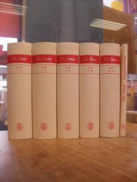 Schiller, Die Horen – Eine Monatsschrift, 5 (von 6) Bänden sowie der Supplementb