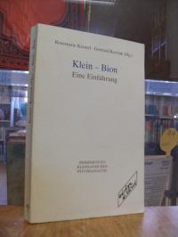 """Klein – Bion : Eine Einführung –  Beiträge zum """"Frankfurter Theoretischen Forum"""""""