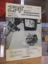 Zeitschrift für Photogrammetrie und Fernerkundung – ZPF, Heft 6, 58. Jahrgang, N