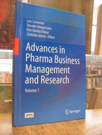 Advances in Pharma Business Management and Research, Volume 1,