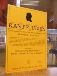 Kant, Kant-Studien – Philosophische Zeitschrift der Kant-Gesellschaft, 94. Jahrg