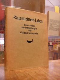 Steinhausen, Aus meinem Leben – Erinnerungen und Betrachtungen,