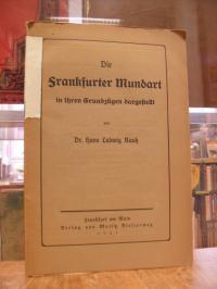 Rauh, Die Frankfurter Mundart in ihren Grundzügen dargestellt,