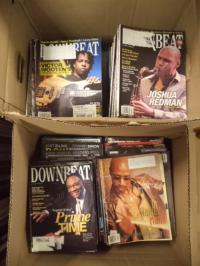 Reed, Konvolut von über 210 (!) Heften : Downbeat [auch Down Beat]  – jazz, blue