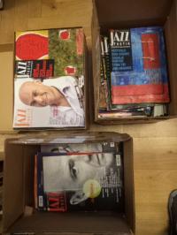 Linke, Konvolut von über 220 (!) Heften : Jazzthetik – Zeitschrift / Magazin für