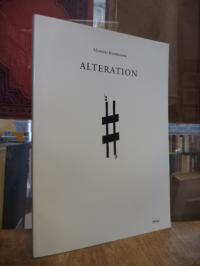 Rosenmann Taub, Alteration – Albumblätter = Alteración – Hojas de album,