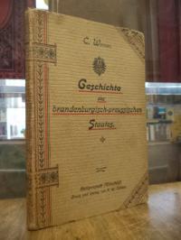 Werner, Geschichte des brandenburgisch-preussischen Staates – Lehrbuch zunächst