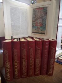 Frankfurt, Frankfurt Archiv, acht (8) Ordner mit Loseblattsammlung (unkomplett,
