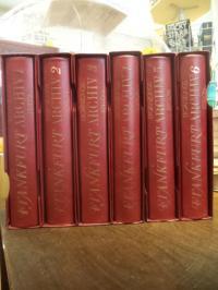 Klötzer, Frankfurt Archiv, Ergänzungs-Edition (auch: Ergänzungsedition), 6 Bände