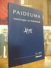 Hardenberg, Paideuma – Mitteilungen zur Kulturkunde, Band 61 – 2015,