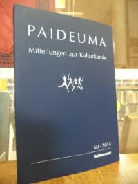 Hardenberg, Paideuma – Mitteilungen zur Kulturkunde, Band 60 – 2014,