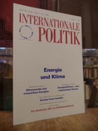 Deutsche Gesellschaft für Auswärtige Politik, Internationale Politik, Nr. 8, Aug