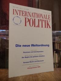 Deutsche Gesellschaft für Auswärtige Politik, Internationale Politik, Nr. 5, Mai